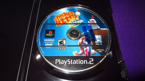 chicken little ace in action disney ps2 playstation 2