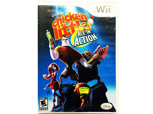 chicken little ace in action - nintendo wii