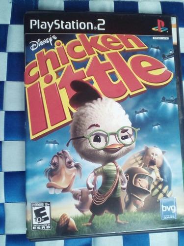 chicken little disney's ps2