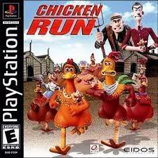 chicken run original testado playstation ps1