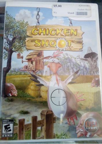 chicken shoot /juego nintendo wii & wii u original