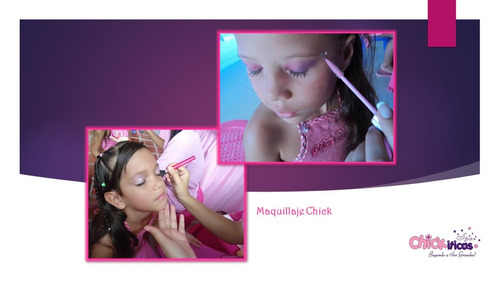 chickiticas mini spa infantil fiesta para niñas spa