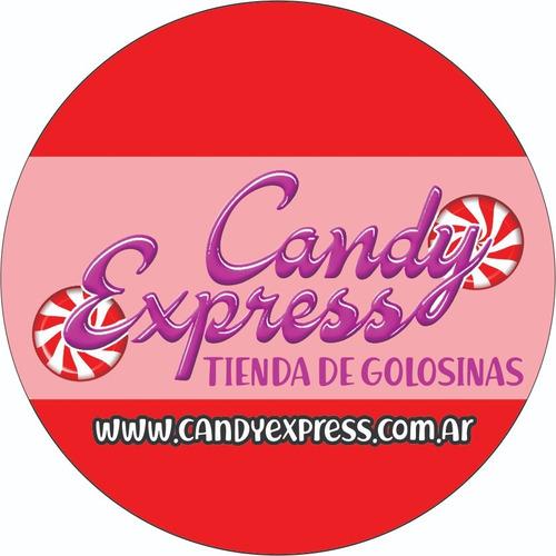 chicle globo fierita tutti frutti x 100u. candy express.