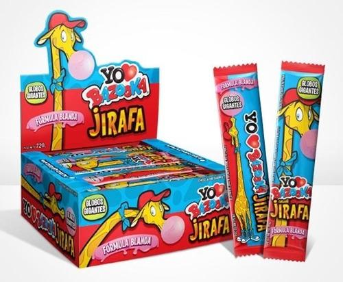 chicle jirafa bazzoka x 40u