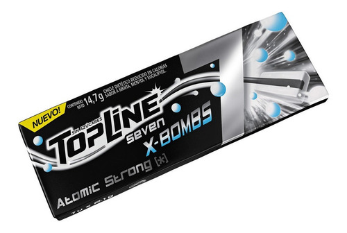 chicle topline 7 atomic strong 16u x14grms