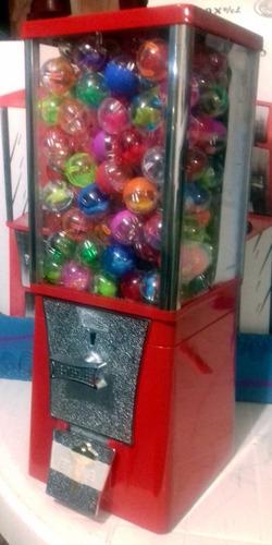 chiclera vending  eagle pelota capsula a 5pesos envio gratis