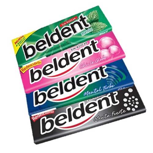 chicles beldent - caja x 20 u - lollipop