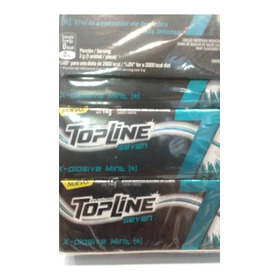 Chicles Top Line Seven Pack X 16 Unidades