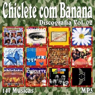 discografia chiclete banana