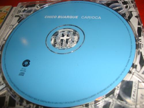 chico buarque - carioca ( 3cds frete gratis )