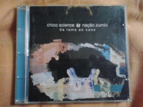 chico science nação zumbi / da lama ao caos cd