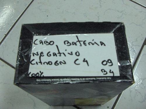chicote cabo bateria negativo citroen c4 scd039