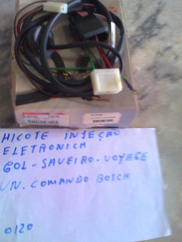 chicote cabo ignição eletronica gol saveiro voyage parati