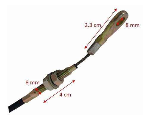 chicote de 1.18 m para levante hidráulico trimoto volteo