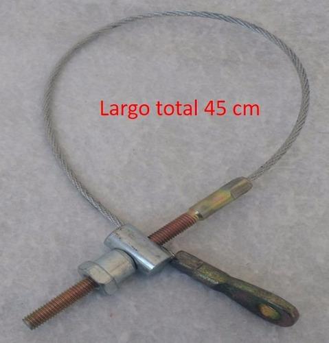 chicote de 45 cm para freno de mano motos