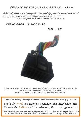 chicote de força para retratil ar70 mm710