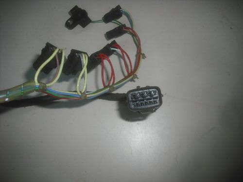 chicote dos solenoide câmbio automático v5a51 pajero full 02