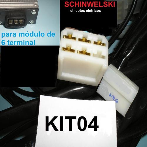 chicote eletrico fusca schinwelski completo + esquemas +nota