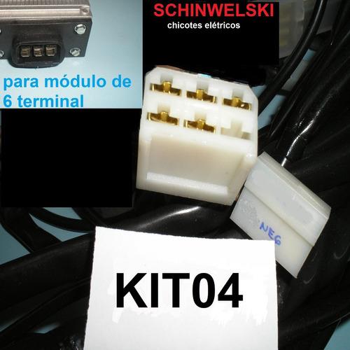 chicote eletrico fusca schinwelski de bateria ignição 12volt
