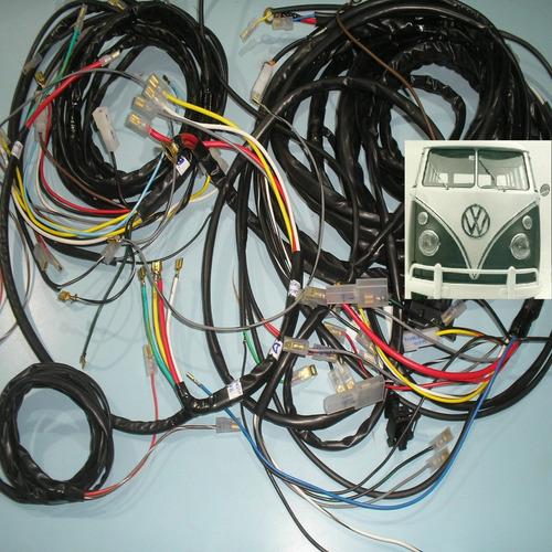 chicote elétrico kombi antiga schinwelski completo + esquema