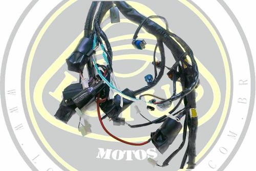 chicote elétrico principal dafra horizon 250 original com nf