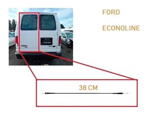 chicote para chapa puerta ford econoline 5a puerta corto izq
