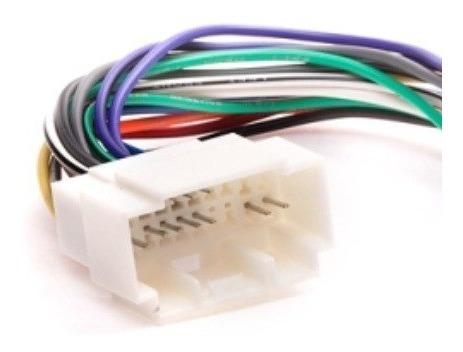 chicote plug adaptador p/ rádio cd player e dvd honda civic