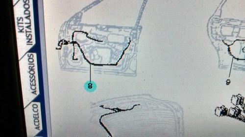 chicote porta dianteira direita astra 95/96 gm 90451277