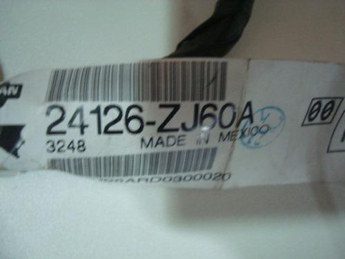 chicote porta traseira nissan sentra cod: 24126-zj60a
