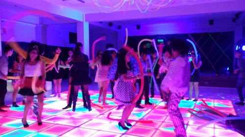 chicoteca karaoke disco domicilio neon pantalla gigante show