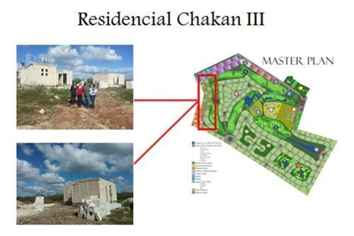 chicxulub pueblo remato terreno de 30 x 50 en privada