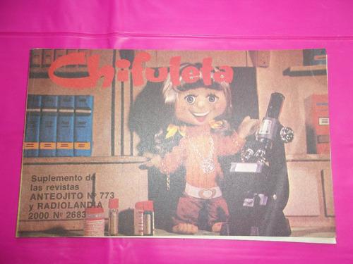 chifuleta suplemento revista anteojito n°773 y radiolandia n