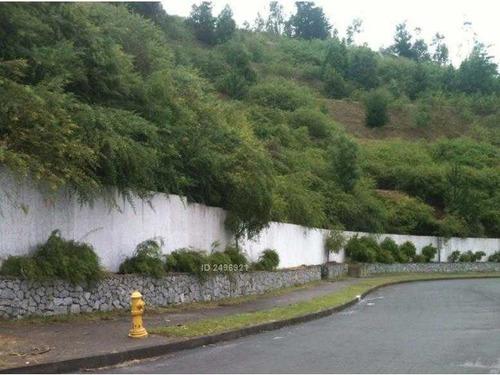 chiguayante, terreno en exclusivo sector de lonco parque 2478 m2
