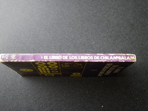 chilam balam, libro de los libros de