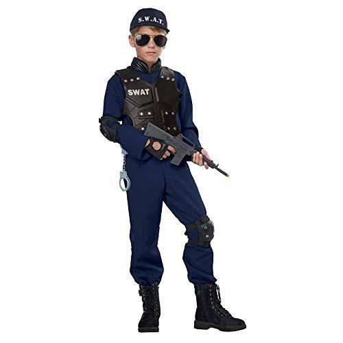 child junior swat costume large