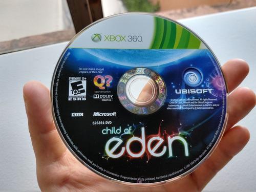 child of eden, xbox 360. completo, envió gratis.
