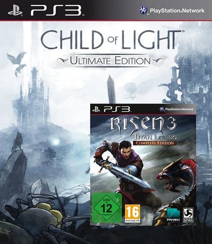 child of light® ue + risen 3 titan lords - ce (ps3)