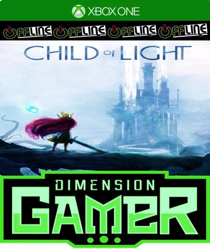 child of light - xbox one - no codigo - off-line