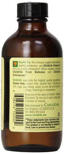 childlife essentials liquid vitamin c 118,5 ml - naranja