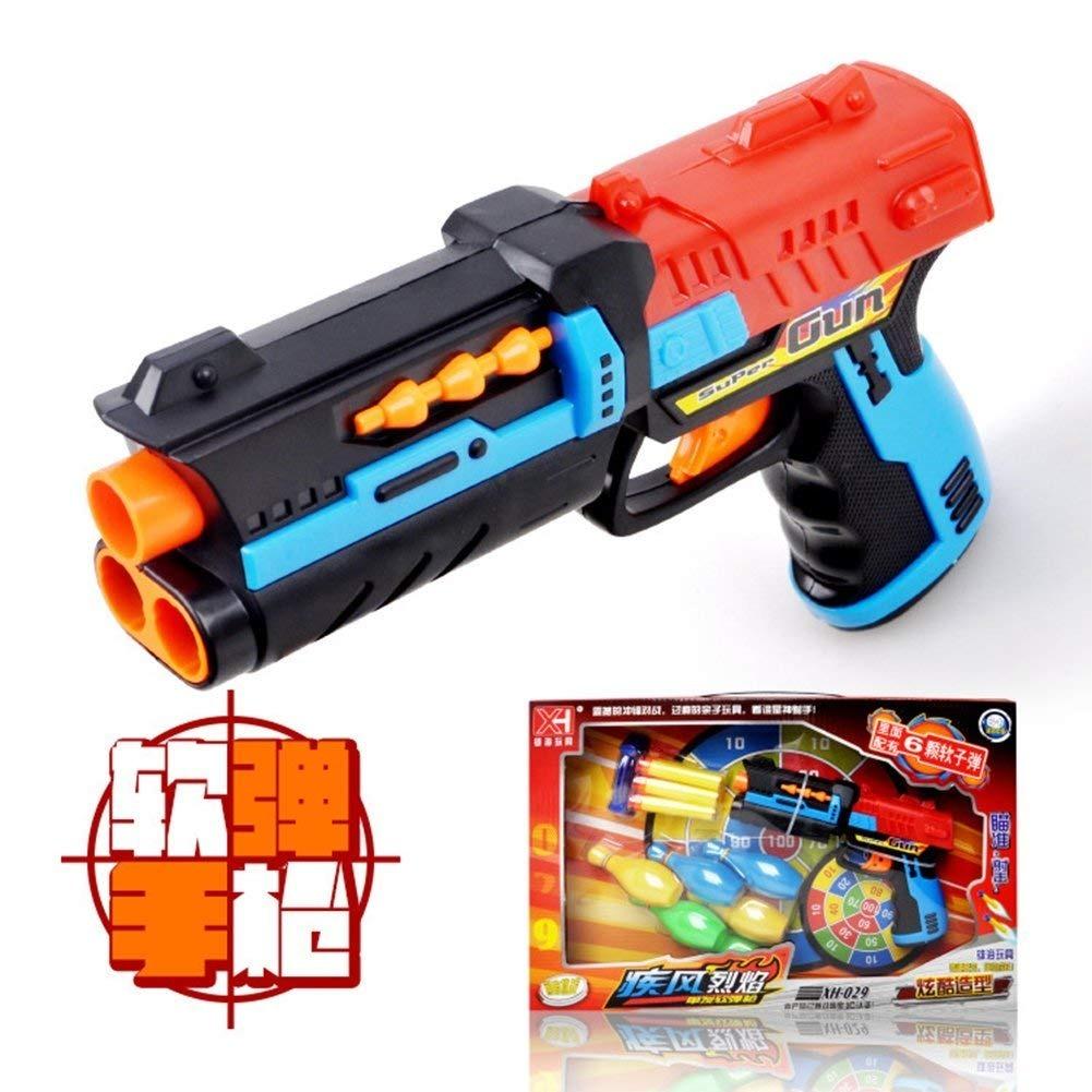 Children Favorite Simulation Soft Bullet Gun Toy Military Mo Descripcin