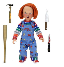Childs Play Chucky Con Accesorios Neca Tierra Prima