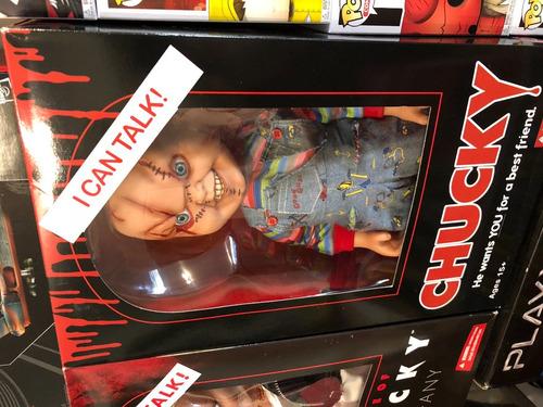 child's play chucky talking mega-scale 15-inch doll mezco