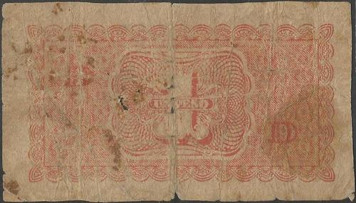 chile, 1 peso 3 mar 1943 p90d