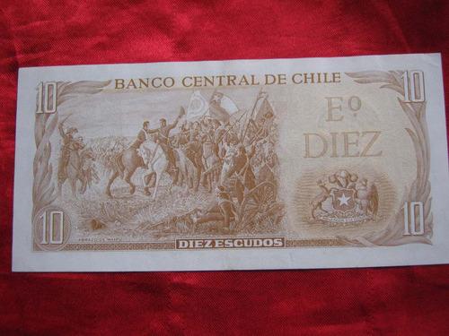 chile 10 escudos inostroza - barrios