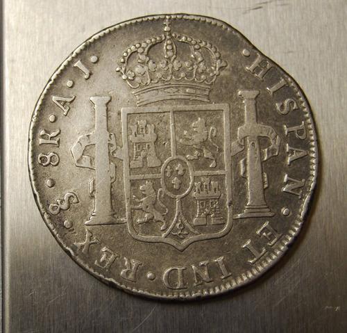 chile 1800 8 reales santiago falla moneda plata alexmetnum