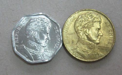 chile:  2 moedas  diferentes !!!