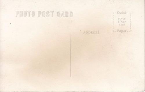 chile antigua postal fotografia calle en morro de arica