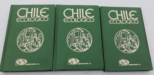 chile ecológico 3 tomos, la tercera 1985