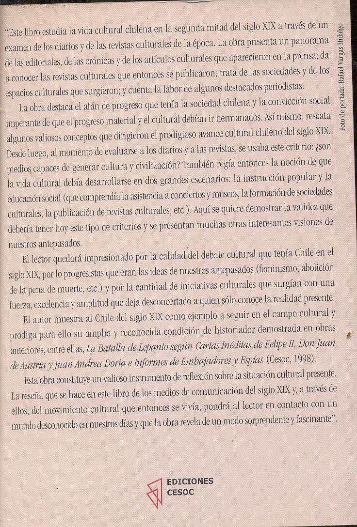 Chile el espejo de papel rafael vargas hidalgo - Espejo de papel ...