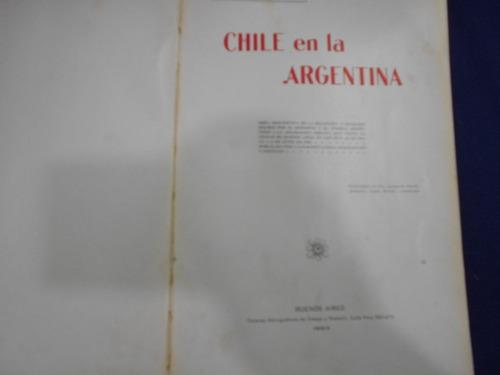 chile en la argentina